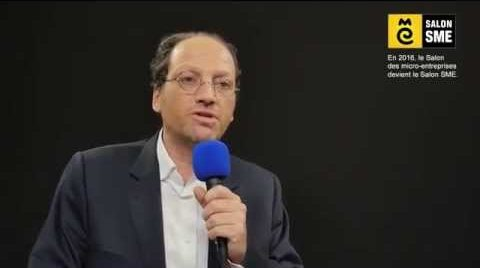 Interview de Patrick Levy-Waitz au Salon des micro-entreprises