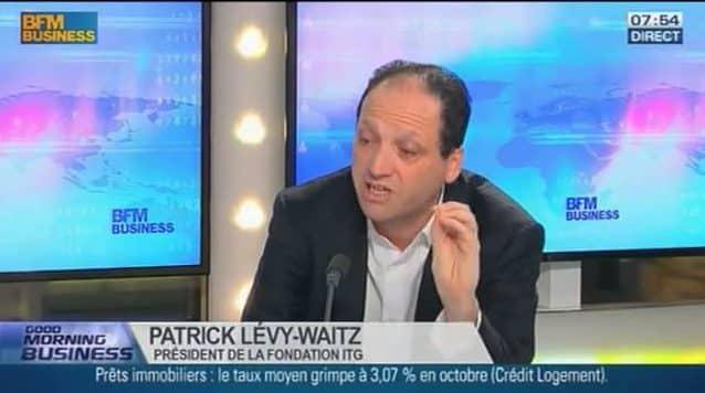 Patrick Levy-Waitz parle des nouvelles formes d'emploi sur BFM Business
