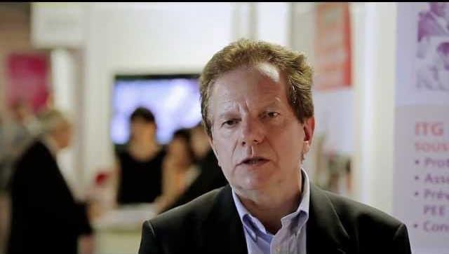 Patrick Rey présente ITG et le portage salarial au salon de l'entreprise Aquitaine 2012