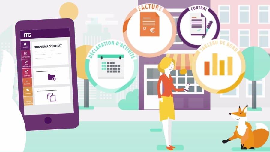 application mobile mon espace itg