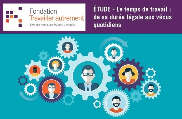 Étude de la Fondation Travailler autrement sur la gestion des temps professionnels
