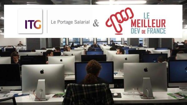 """ITG participe à la 2ème édition du """"Meilleur dev de France"""""""