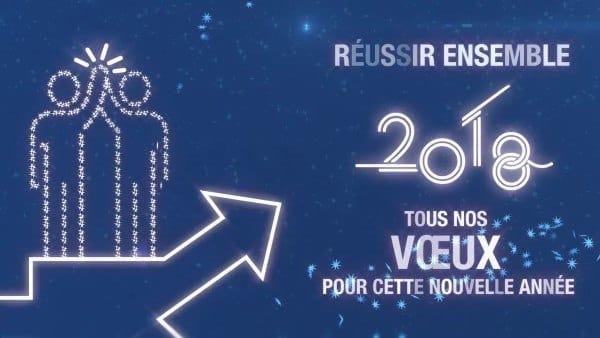 Réussir ensemble : les vœux d'ITG pour cette nouvelle année 2018