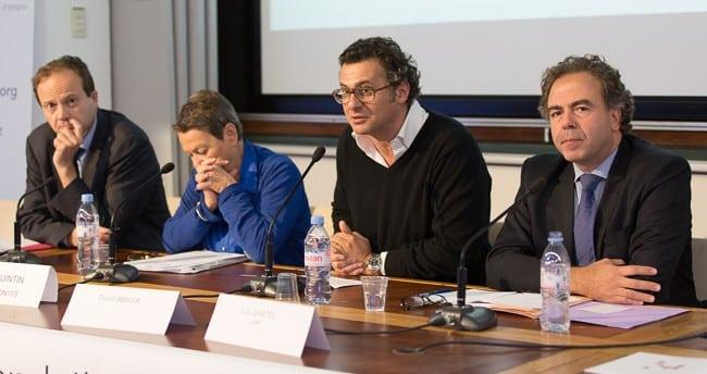 Le grand débat de la Fondation ITG, travail et préjugés avec Luc Chatel, David Abiker Jen-Marc Germain et Odile Quintin