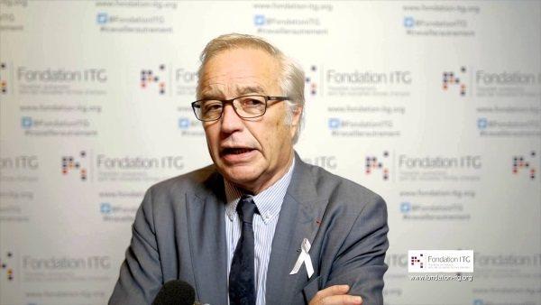 Interview du ministre de l'emploi François Rebsamen pour la Fondation ITG