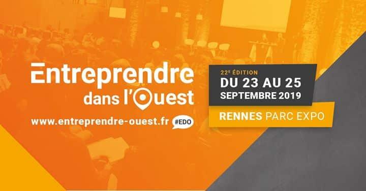 JRCE Salon Entreprise Rennes 2019 : entreprendre dans l'ouest