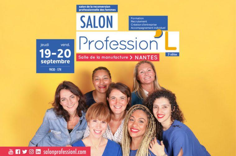 Profession'L 2019 : Salon de la reconversion professionnelle des femmes (Nantes)
