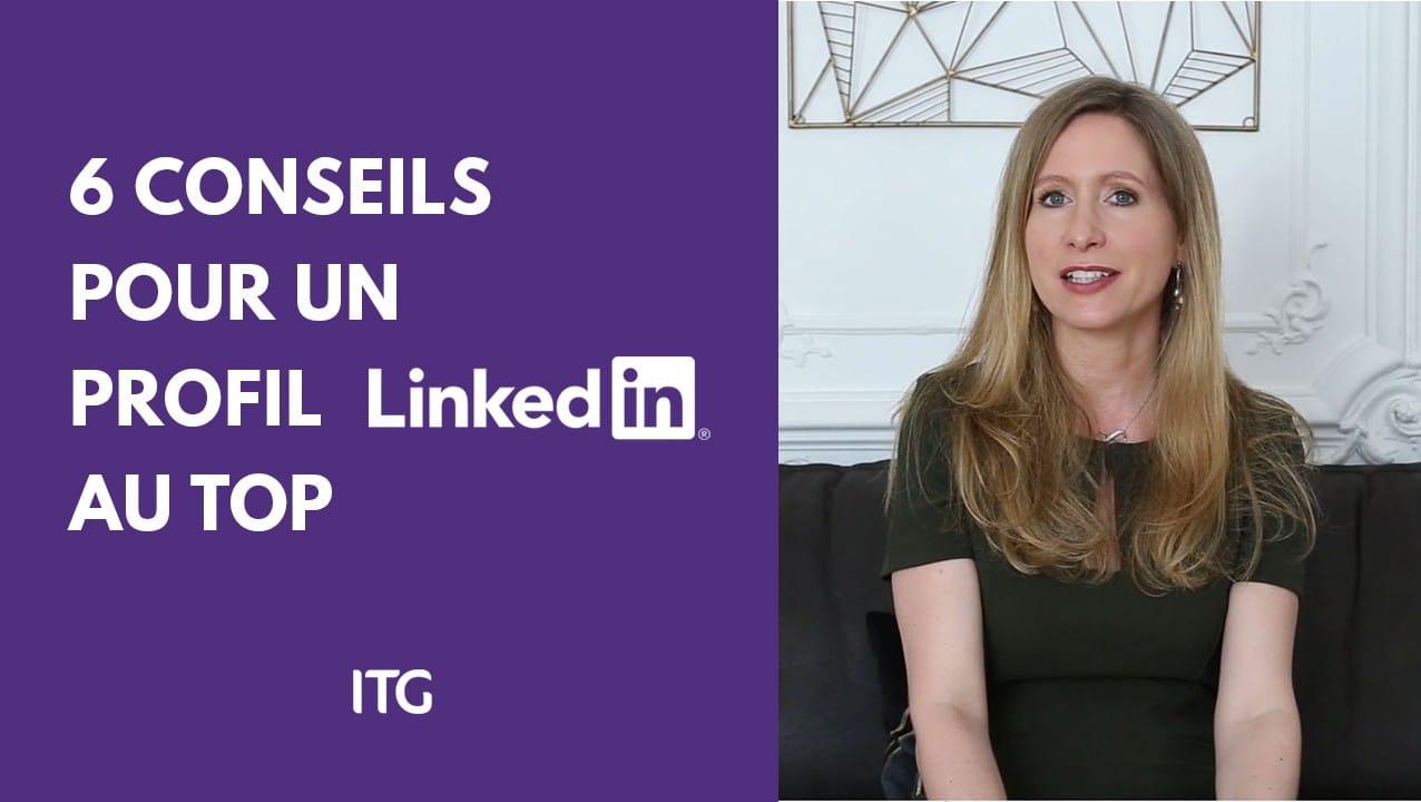 Youtube thumbnail - 6 conseils pour optimiser son profil LinkedIn d'indépendant