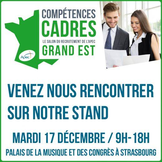 Salon Apec Compétences Cadres Strasbourg