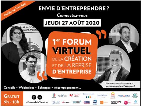 Forum de la création & de la reprise d'entreprise