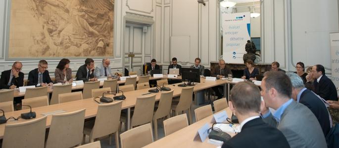 Crédit : Thierry Marro – France Stratégie – Séance n°1 de la Commission CPA