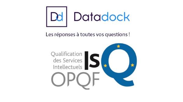 ITG Formation référencé dans le DATADOCK et certifié ISQ-OPQF