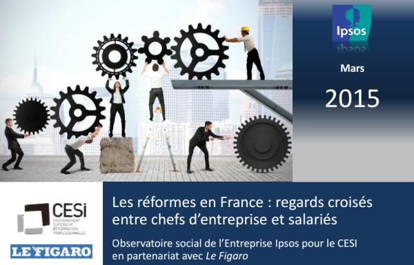 L'Observatoire Social de l'Entreprise CESI : 2015 - Les réformes en France