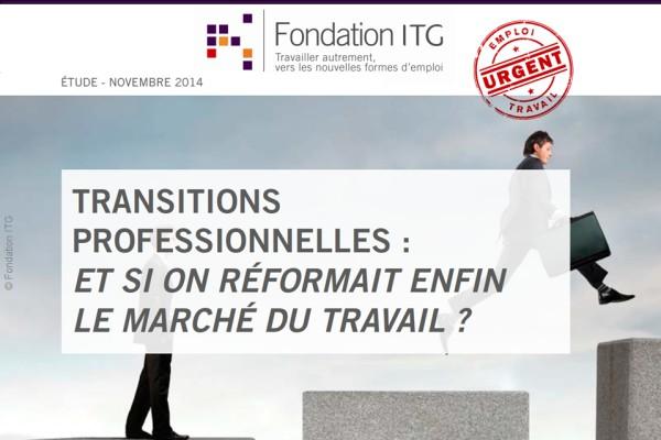 Etude européenne sur les transitions professionnelles de la Fondation ITG