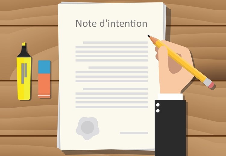 La note d'intention du consultant freelance
