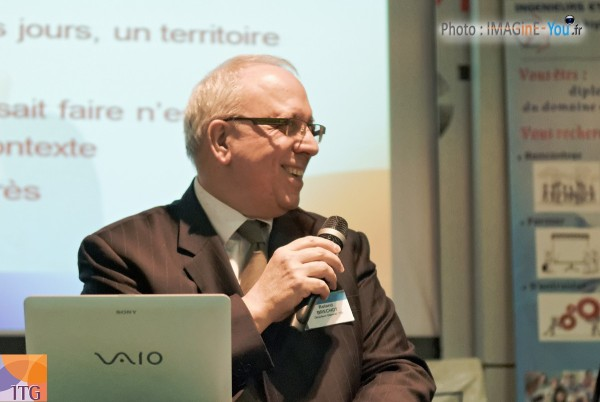 Roland Bréchot : DG d'ITG Portage Salarial
