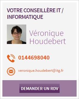 Véronique Houdebert : conseillère informatique ITG